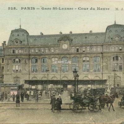 MJ 528 - PARIS - Gare St-Lazare - Cour du Havre