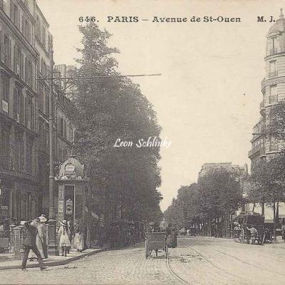 MJ 646 - Avenue de St-Ouen