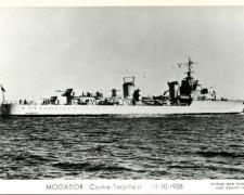 Contre-torpilleur MOGADOR  11-10-1938