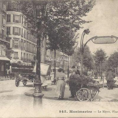 GCA 945 - Montmartre - Le Metro Place d'Anvers
