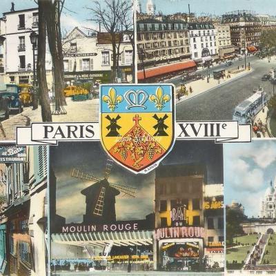 GUY 6 733 - Montmartre - Multivues