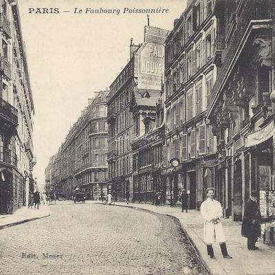 Moser - Le Faubourg Poissonnière