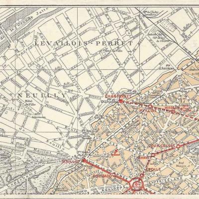 Plan en 9 Cartes, circa 1911