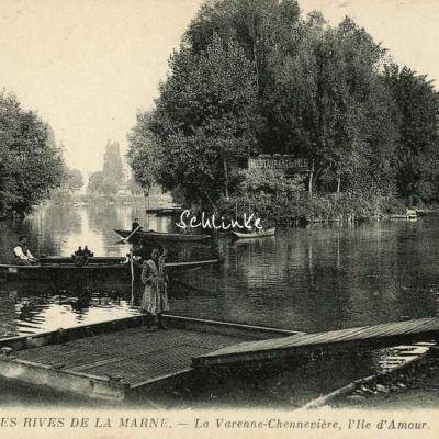 ND 106 - La Varenne-Chennevière - Les Rives de la Marne - L'Ile d'Amour