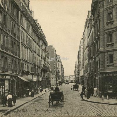 ND 1143 - PARIS - Rue Stephenson