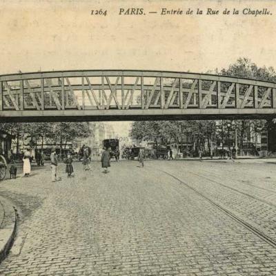 ND 1264 - Entrée de la Rue de la Chapelle