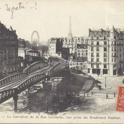 ND 1479 - Le Carrefour de la Rue Lecourbe
