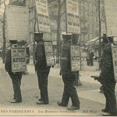 ND 1514 - Les Hommes-Sandwichs