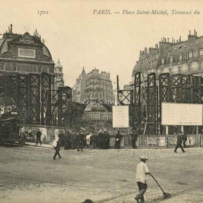 ND 1701 - Travaux Place Saint-Michel