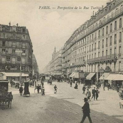 ND 1729 - PARIS - Perspective de la Rue Turbigo