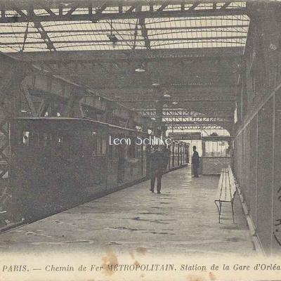 ND 1830 - Métro - Station de la Gare d'Orléans
