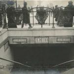 ND 187 - L'entrée d'une Station envahie par les eaux