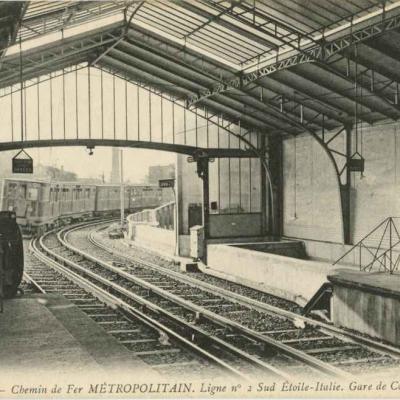 ND 1923 - METROPOLITAIN - Ligne 2 Sud, Etoile-Italie Gare de Corvisart