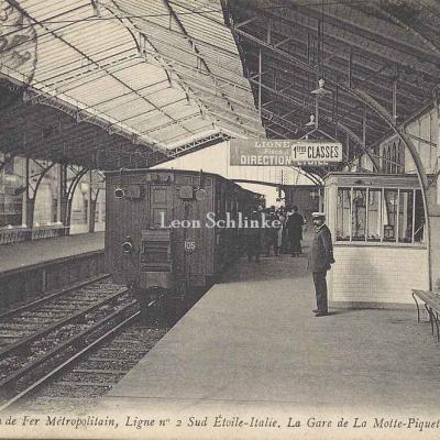 ND 1925 - Gare de La Motte-Piquet, Ligne n°2 Sud Etoile-Italie