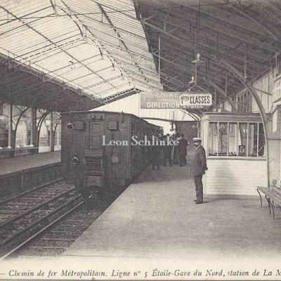 ND 1925 - Gare de La Motte-Piquet, Ligne n°5  Etoile-Gare du Nord