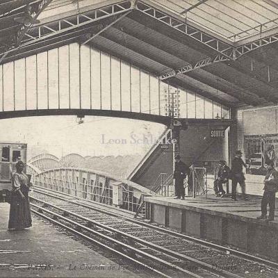 ND 1926 - Le Chemin de Fer Métropolitain, Gare Dupleix