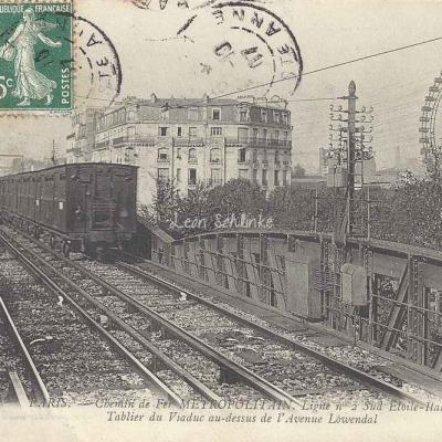 ND 1927 - Tablier du Viaduc au-dessus de l'Avenue Lowendal