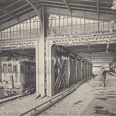ND 1931 - Métro - Traversée en Viaduc de la Gare d'Orléans
