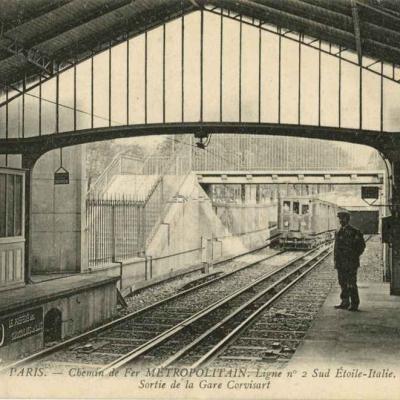 ND 1932 - METROPOLITAIN - Ligne 2 Sud, Etoile-Italie Gare de Corvisart