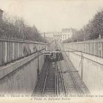 ND 1934 - Viaduc et Rampe en tranchée du Boulevard Pasteur