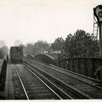 ND 1935 (Photo) - Tablier du Viaduc à la Gare d'Allemagne