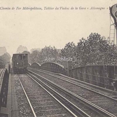 ND 1935 - Tablier du viaduc de la Gare d'Allemagne