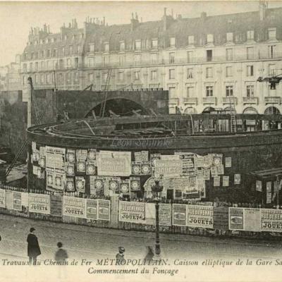ND 1969 - Caisson elliptique de la Gare Saint-Michel