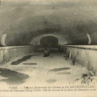 ND 1972 - La Gare de Charenton avant la pose des voies