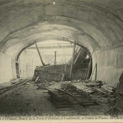 ND 1976 - Boucle de la Porte d'Orléans au Viaduc  de Ceinture