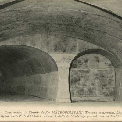 ND 1982 - Tunnel culotte de Montrouge sous les Fortifications