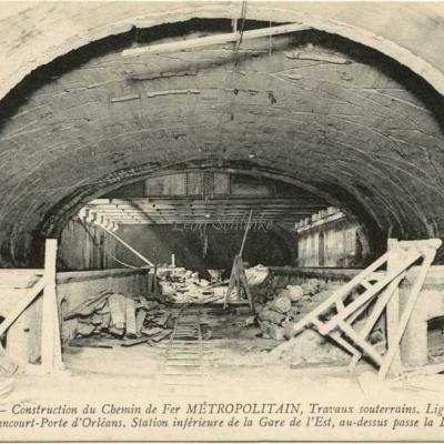 ND 1983 - Station inférieure de la Gare de l'Est
