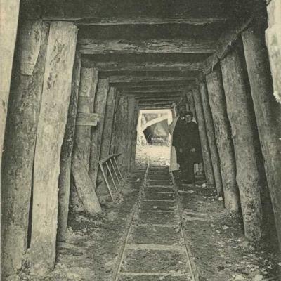 ND 1988 - Galerie d'avancement, l'Arc souterrain courant