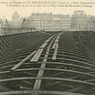 ND 1993 - Armature en fer de la Gare Saint-Michel