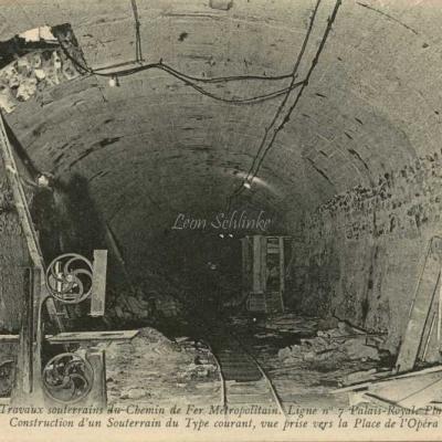 ND 1999 - Construction d'un souterrain de type courant