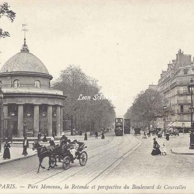 ND 201 - Parc Monceau, la Rotonde et Bd de Courcelles