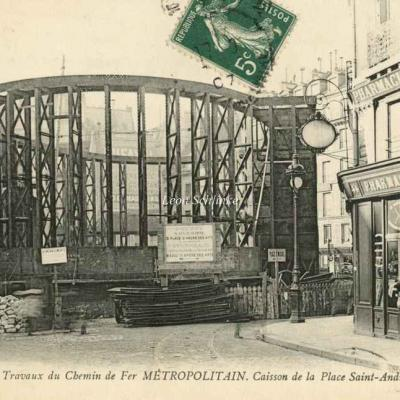 ND 2291 - Caisson Place St-André-des-Arts