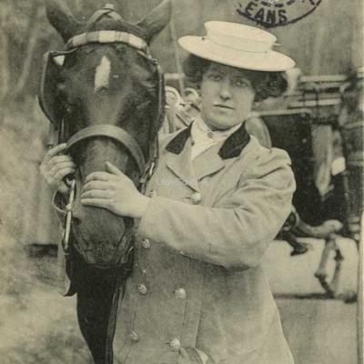 ND 2342 - Mlle Blanche Etienne de la Cie Valentin's