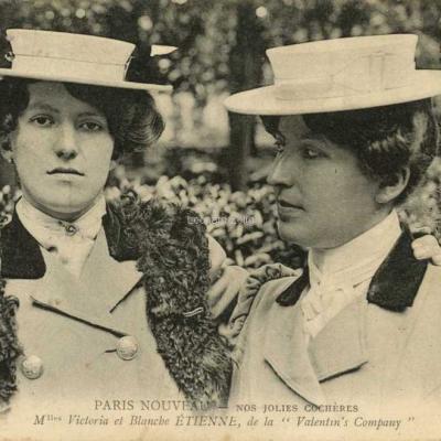 ND 2343 - Mlles Victoria et Blanche Etienne
