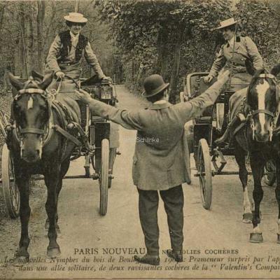 ND 2351 - Les nouvelles nymphes au Bois de Boulogne