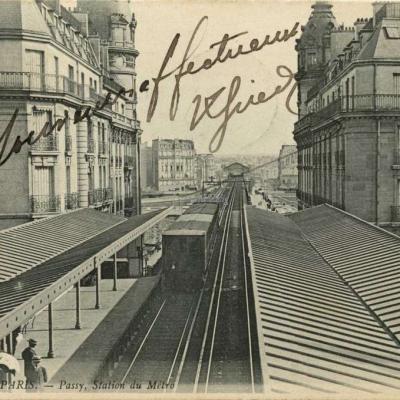 ND 2431 - PARIS - Passy, Station du Métro