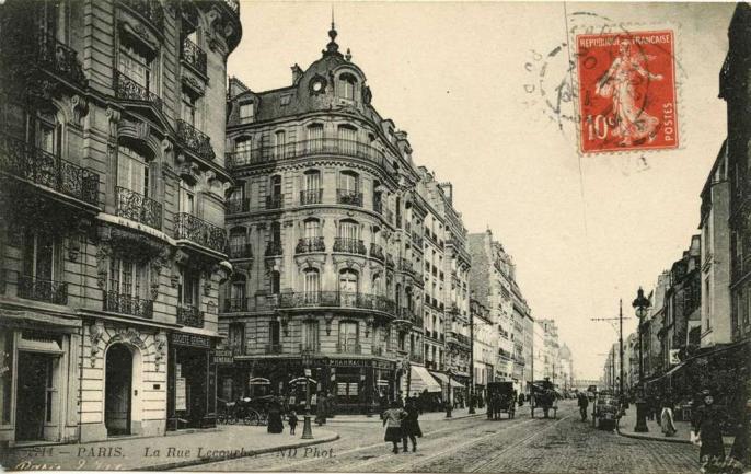 ND 2714 - PARIS.  La Rue Lecourbe