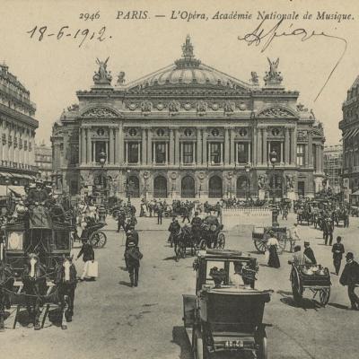 ND 2946 - PARIS - L'Opéra, Académie Nationale de Musique (vue 1)