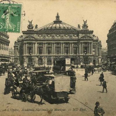 ND 2946 - PARIS - L'Opéra, Académie Nationale de Musique (vue 2)