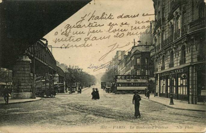 ND 3811 - Le Boulevard Pasteur