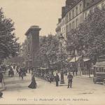 ND 3894 - Le Boulevard et la Porte  Saint-Denis