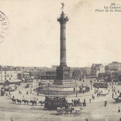 ND 396 - La Colonne de Juillet Place de la Bastille