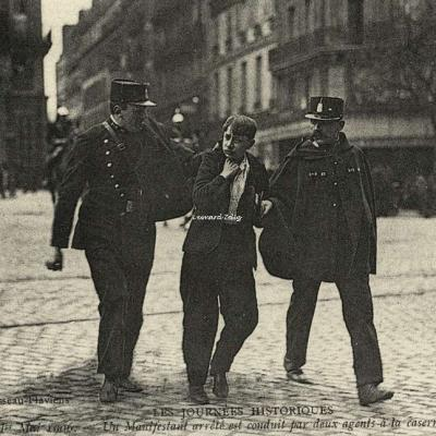 ND - Manifestation du 1er Mai 1906