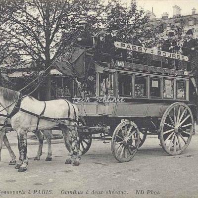 ND 4007 - Omnibus à deux chevaux