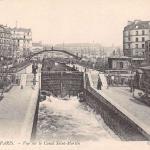 ND 457 - PARIS - Vue sur le Canal Saint-Martin