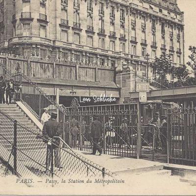 ND 529 - Passy, la Station du Métropolitain